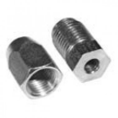 3//8 x 24NF - 3//16 BrakeQuip BQ5555 Tube Nut Male